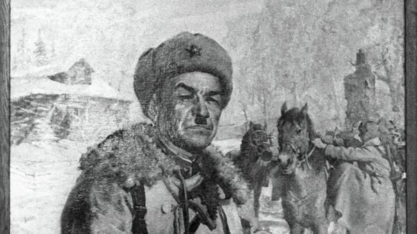 Генерал Иван Панфилов, репродукција слике - Sputnik Србија