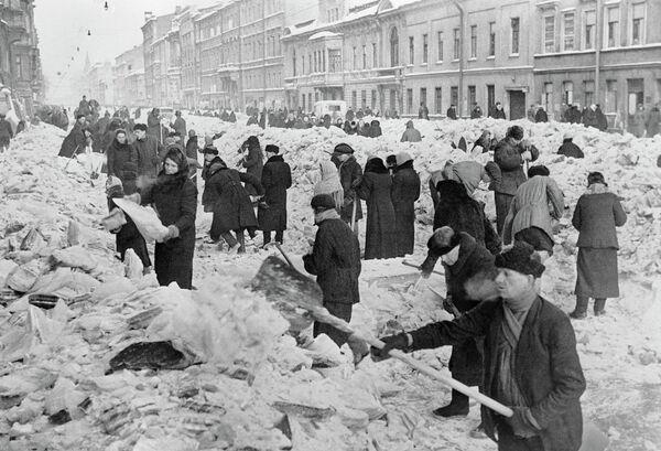Расчишћавање улица - Sputnik Србија