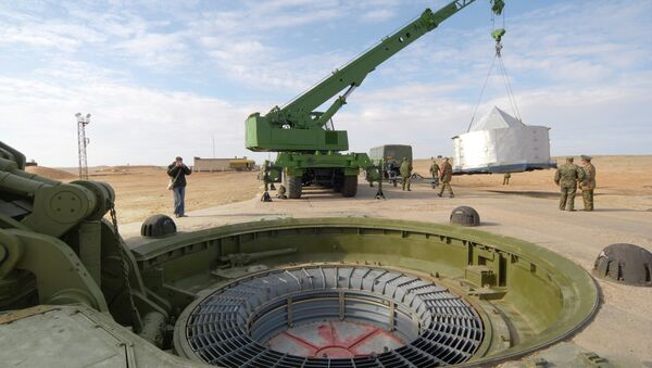 Uoči lansiranja međukontinentalne balističke rakete - Sputnik Srbija