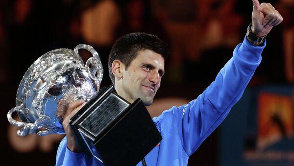 Novak Đoković peti put osvojio Austarlijan open - Sputnik Srbija