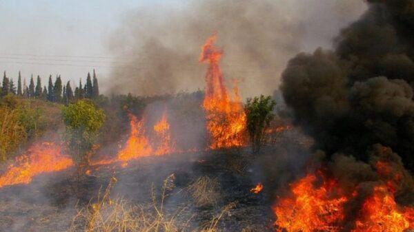 Požar na Korintu - Sputnik Srbija