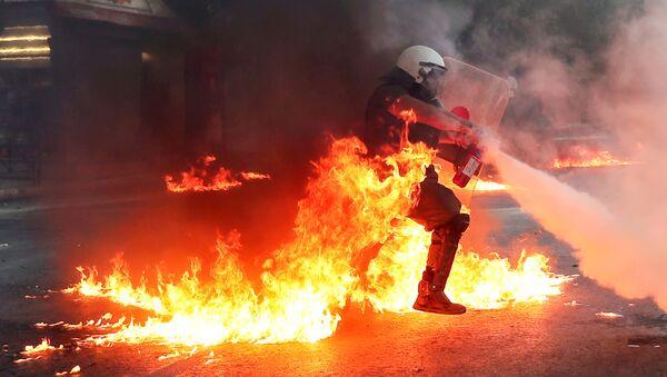 Protest u Grčkoj - Sputnik Srbija