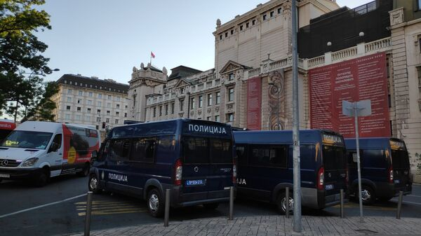 Полицијска возила - Sputnik Србија