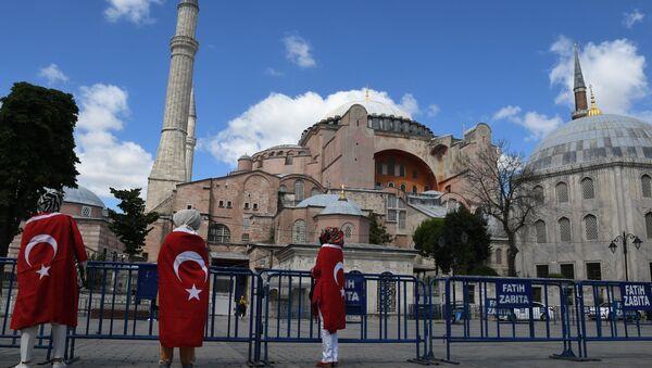 Aja Sofija ponovo postala džamija   - Sputnik Srbija