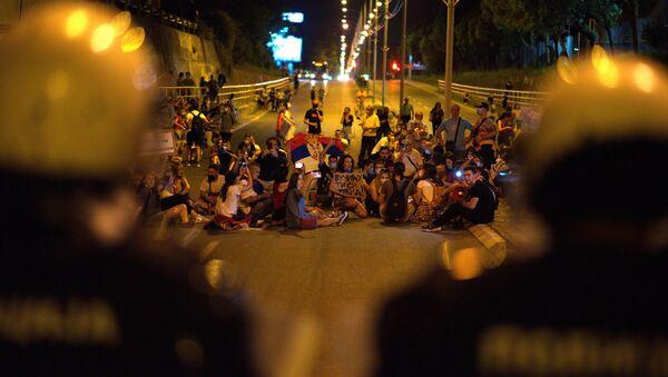 Протест у Нишу - Sputnik Србија