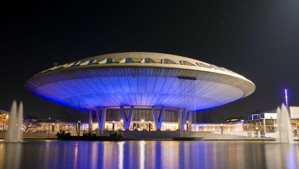 Zgrada u obliku letećeg tanjira - Sputnik Srbija