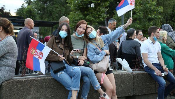 Демонстрације у Београду - Sputnik Србија