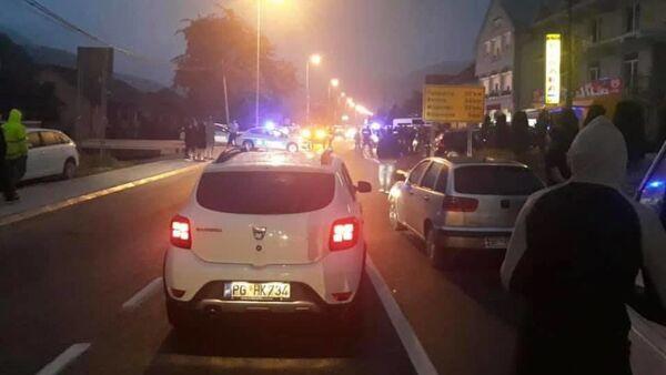 Crna Gora - Litija i policija - Sputnik Srbija