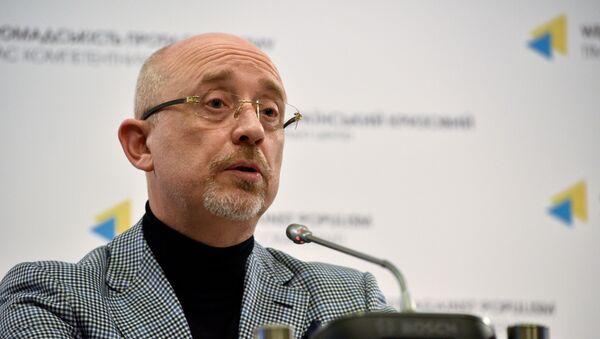 Потпредседник украјинске владе и представник те земље у контакт-групи за Донбас Алексеј Резњиков.  - Sputnik Србија