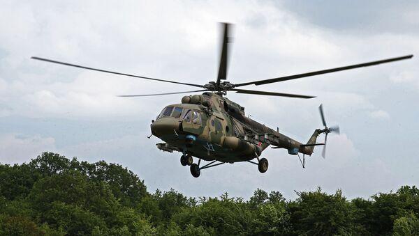 Transportno-borbeni helikopter Mi-8AMTŠ Terminator - Sputnik Srbija