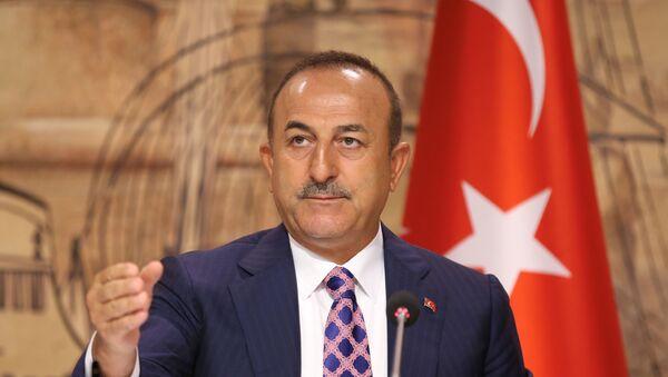 Ministar spoljnih poslova Turske Mevlut Čavušoglu - Sputnik Srbija