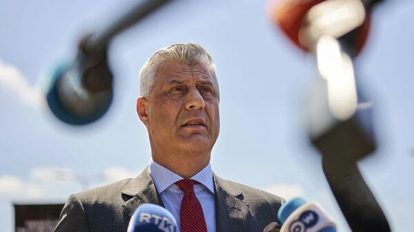 Председник Косова Хашим Тачи - Sputnik Србија