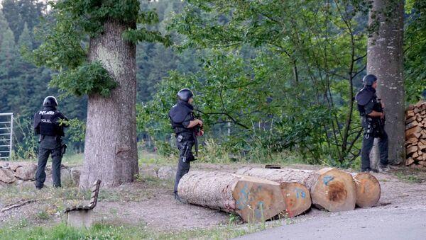 Potraga za beguncem poznatim kao Rambo iz Crne šume u Nemačkoj - Sputnik Srbija