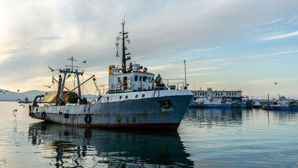 Ribarski brod - Sputnik Srbija
