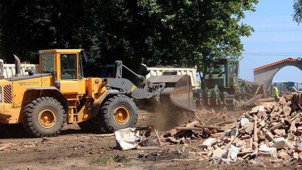 Pripreme za izgradnju kovid bolnice u Batajnici - Sputnik Srbija