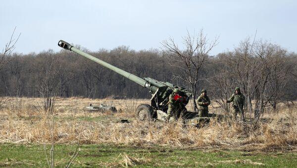 Хаубица Мста-Б калибра 152 милиметра  - Sputnik Србија