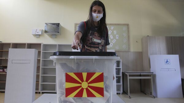 Izbori u  Severnoj Makedoniji  - Sputnik Srbija