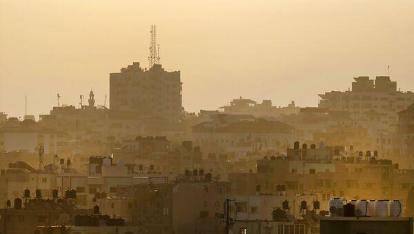 Поглед на град Газу у Палестини - Sputnik Србија
