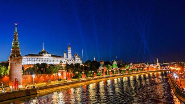 Pogled na Kremlj i reku Moskvu - Sputnik Srbija