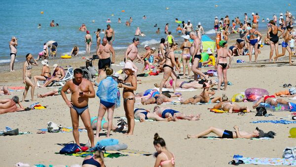 Пуне плаже на Криму - Sputnik Србија