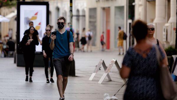 Обавезно ношење маски  - Sputnik Србија