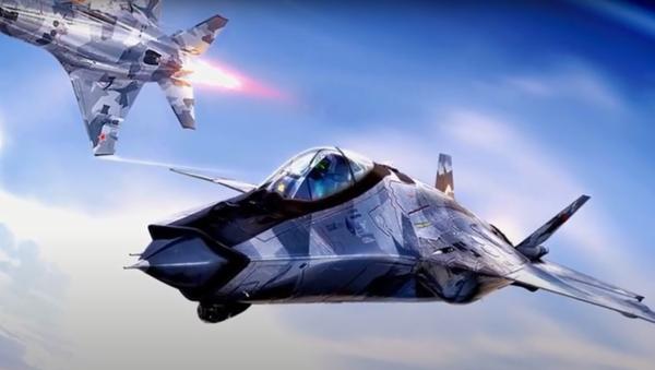 Projektna vizija lovca MiG-41 - Sputnik Srbija