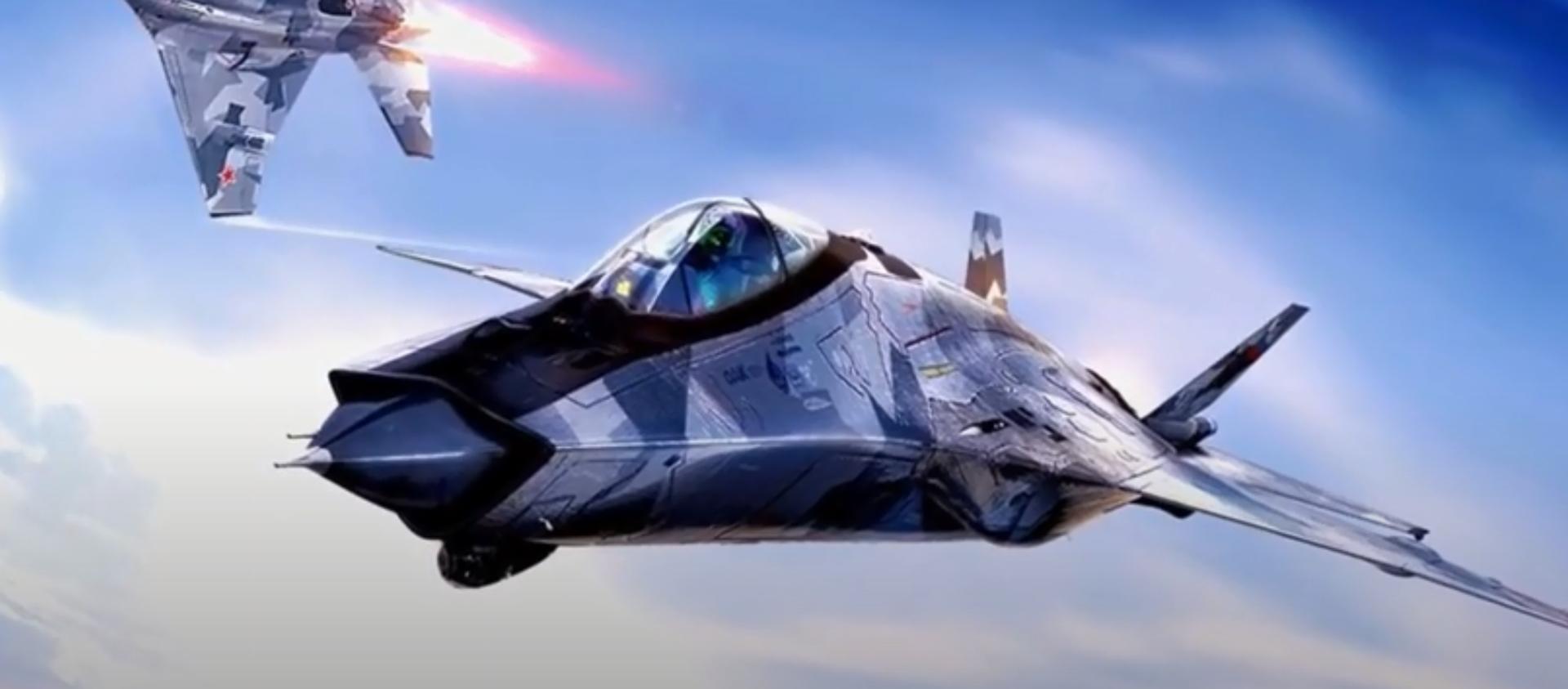 Projektna vizija lovca MiG-41 - Sputnik Srbija, 1920, 24.01.2021