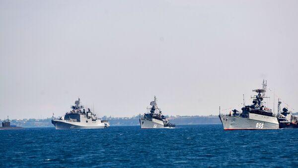 Brodovi Crnomorske flote Rusije - Sputnik Srbija