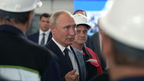 Радна посета председника Русије Владимира Путина Криму - Sputnik Србија