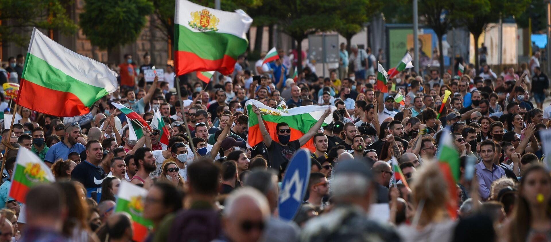 Протести у Бугарској - Sputnik Србија, 1920, 20.07.2020
