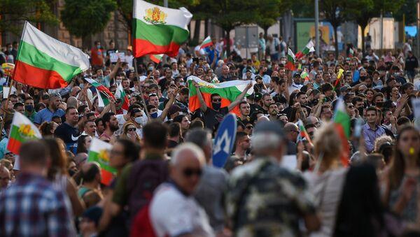 Протести у Бугарској - Sputnik Србија