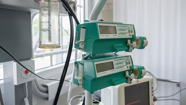 Medicinska oprema u kovid bolnici - Sputnik Srbija
