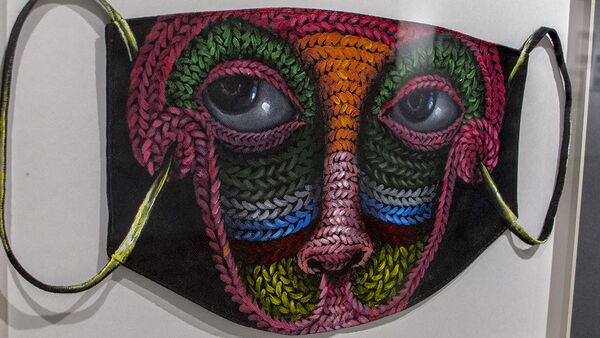 Изложба Put your mask on у Техерану - Sputnik Србија