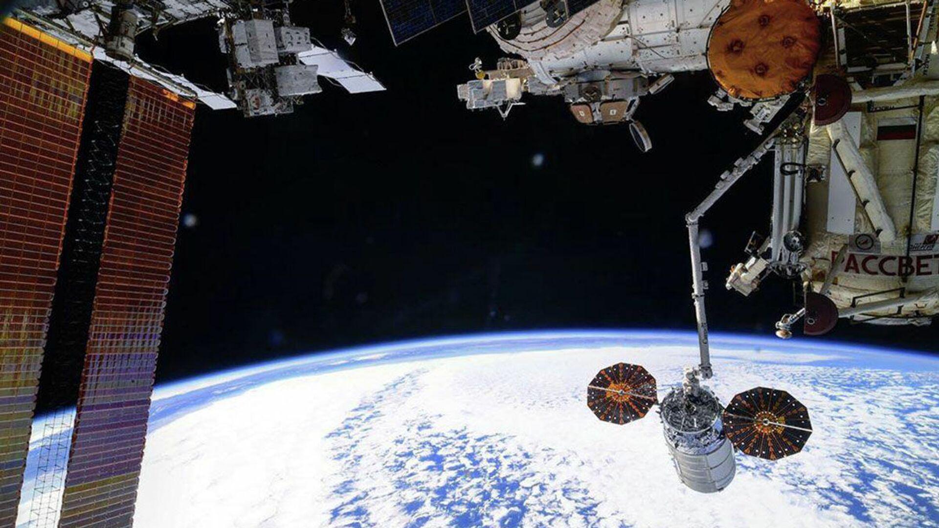 Odvajanje teretnog svemirskog broda Cignus od Međunarodne svemirske stanice - Sputnik Srbija, 1920, 29.07.2021