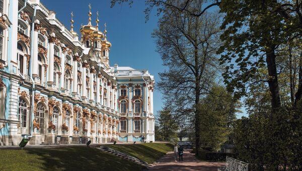 Дворац у руској царској резиденцији, сада музеју, Царско село - Sputnik Србија