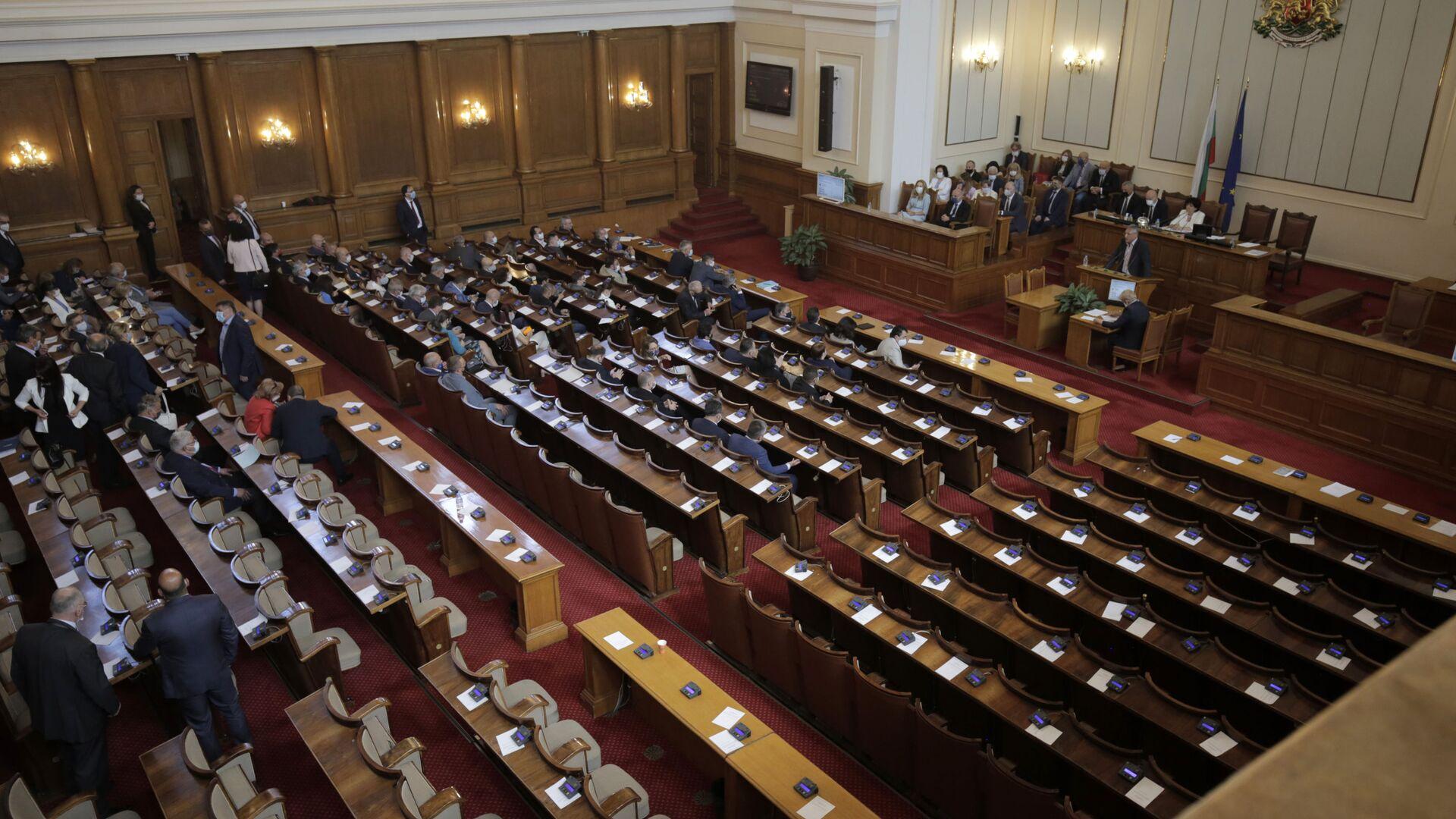 Бугарски парламент - Sputnik Србија, 1920, 03.02.2021