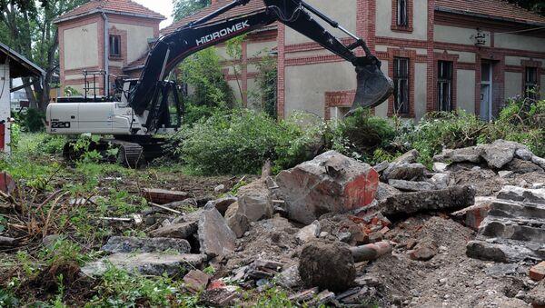 Radovi na izgradnji kovid bolnice u Kruševcu - Sputnik Srbija