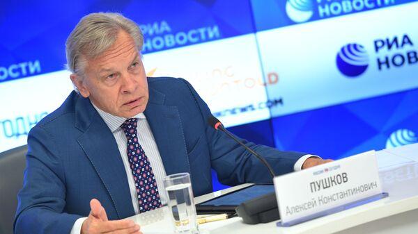 Senator Aleksej Puškov - Sputnik Srbija