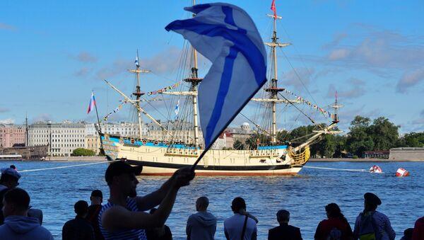 Санкт Петербург: Главна парада поводом Дана ратне морнарице - Sputnik Србија