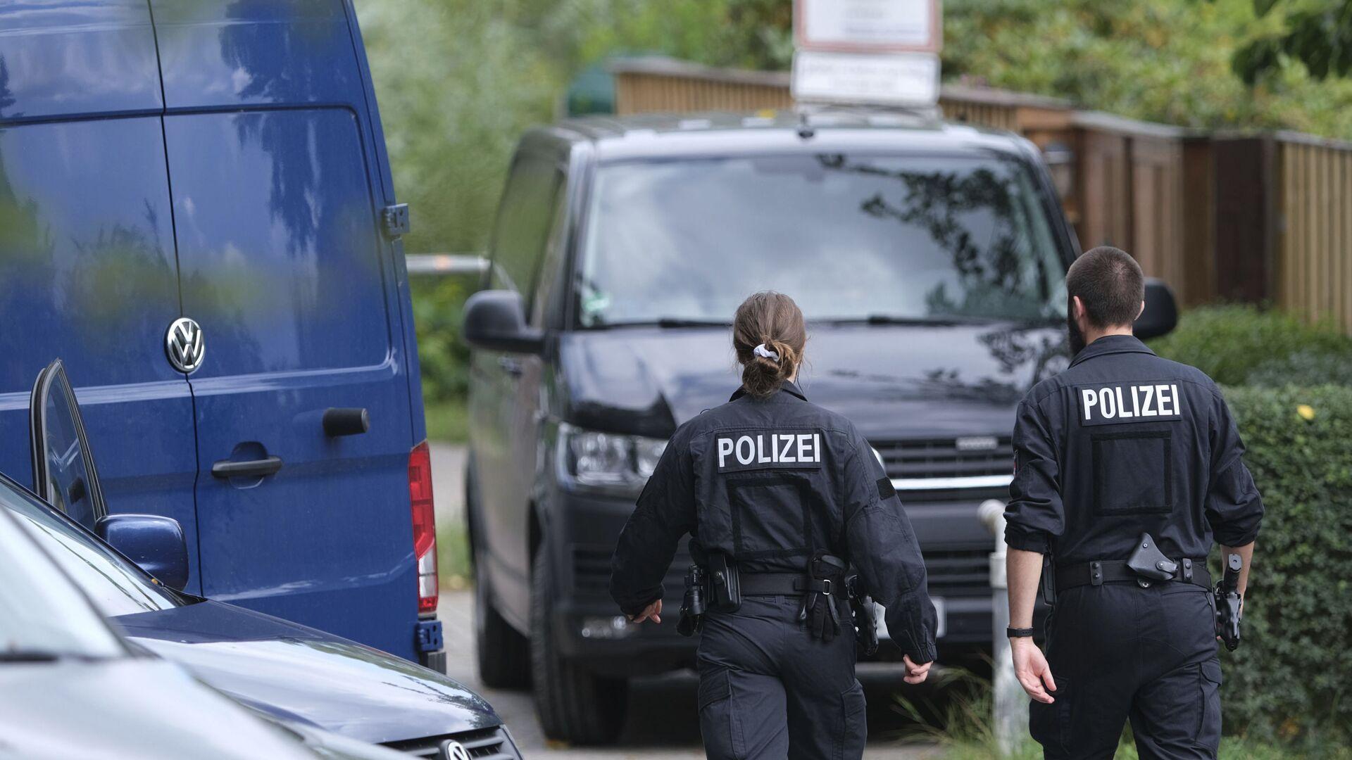 Nemačka policija pretražuje lokaciju u potrazi za nestalom britanskom devojčicom - Sputnik Srbija, 1920, 22.09.2021