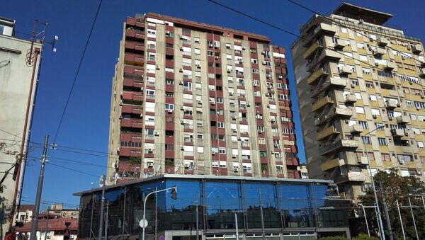 Зграда у Булевару деспота Стефана 68б - Sputnik Србија