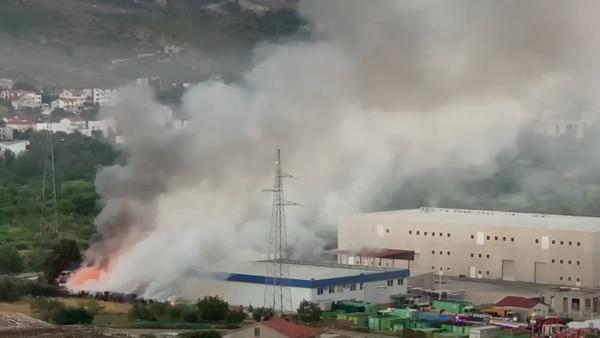 Požar u Splitu - Sputnik Srbija