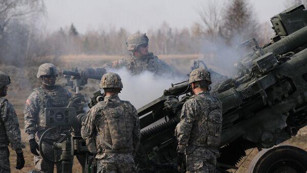 Амерички војници на вежбама у Немачкој - Sputnik Србија