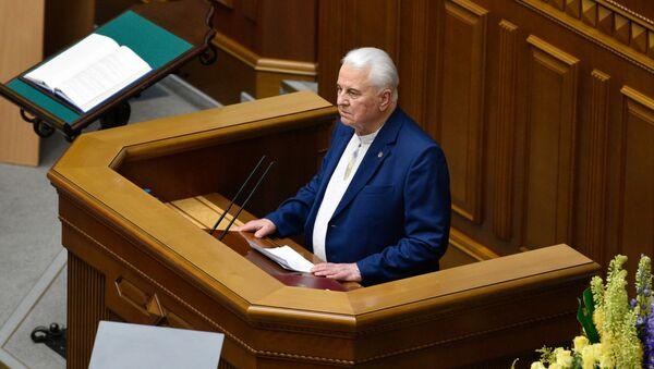 Prvi predsednik Ukrajine Leonid Kravčuk - Sputnik Srbija