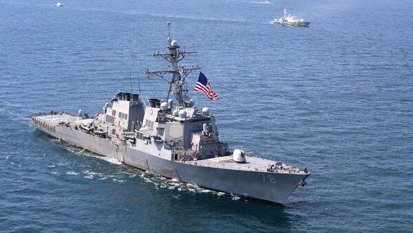 Амерички разарач Портер на Црном мору - Sputnik Србија