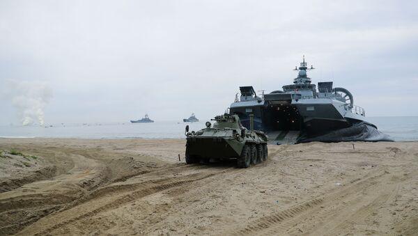 Pomorske vojne vežbe  - Sputnik Srbija