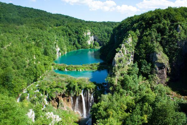 Поглед на Плитвичко језеро - Sputnik Србија