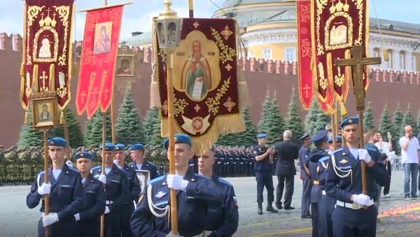 Svečanosti povodom 90 godina Vazdušno-desantnih snaga Rusije - Sputnik Srbija