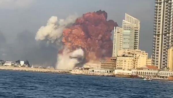 Експлозија у Бејруту - Sputnik Србија