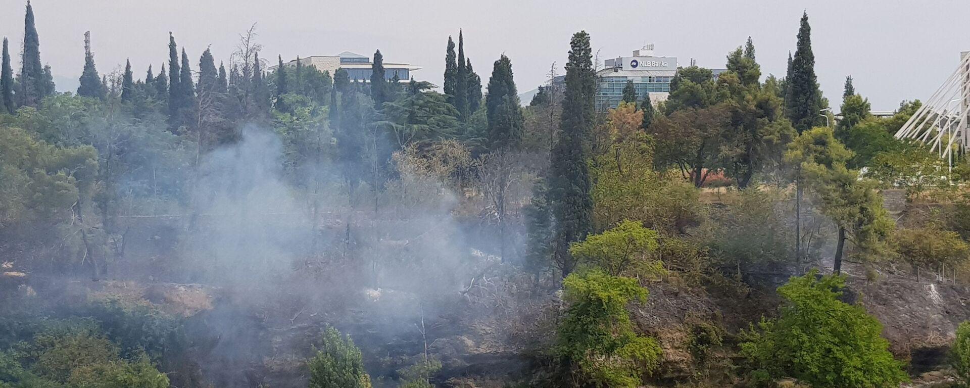 Пожар у Подгорици - Sputnik Србија, 1920, 29.07.2021